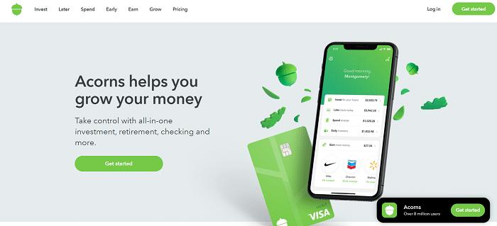 acorn Best Budgeting Apps