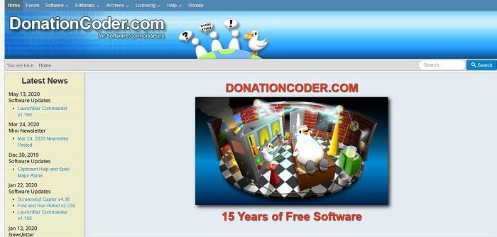donation coder