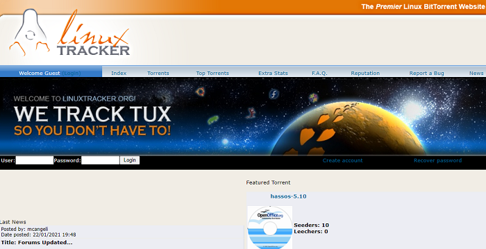 linux tracker Download Paid Software For Free