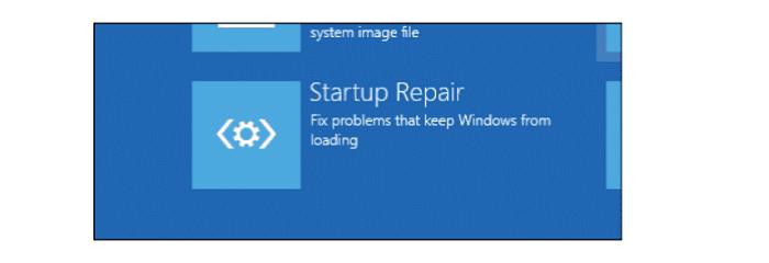 startup repair windows 10 won't boot