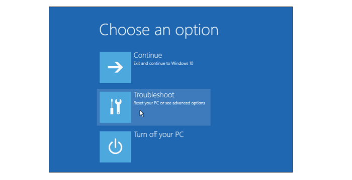 troubleshoot windows 10 won't boot