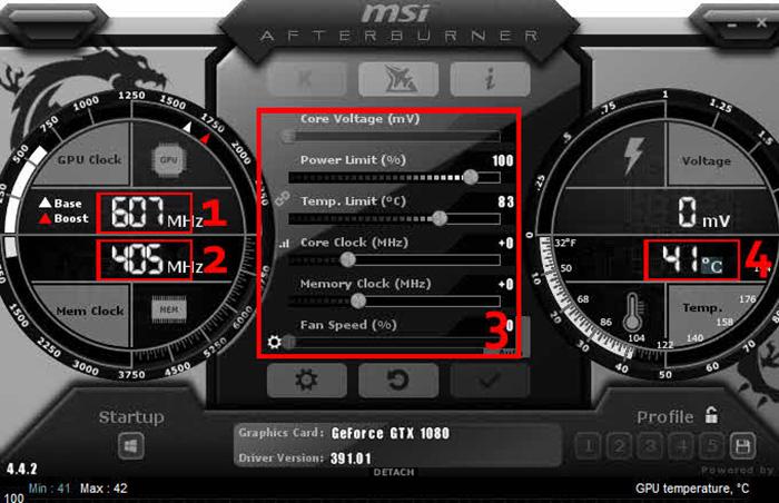 Core Clock MSI Afterburner