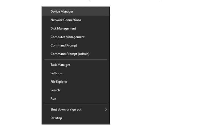 device manager two finger scroll not working