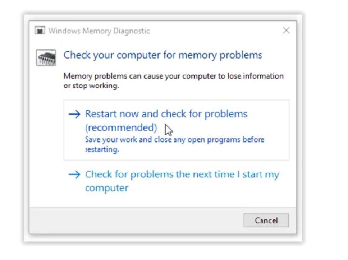 sdram memory management error