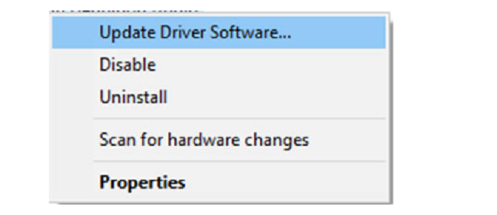 update driver printer driver is unavailable