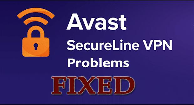 avast secureline vpn problems
