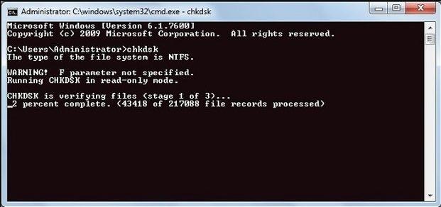 corrupt files