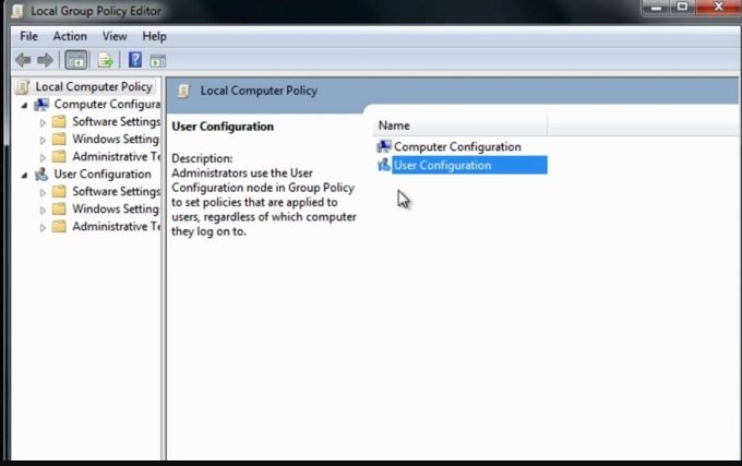 local group policy