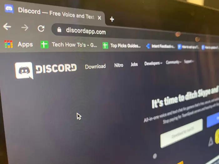 open discord app
