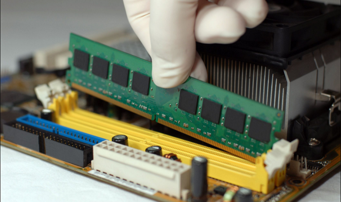 reseating the memory modules