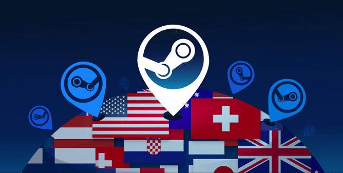 steam alteration of server region