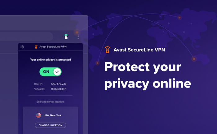 avast secureline vpn connect