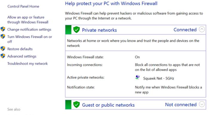 open public network